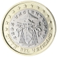Vatican 1 Euro Coin 2005 - Sede Vacante MMV - © European Central Bank