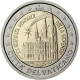 Vatican 2 Euro Coin - XX. World Youth Day in Cologne 2005 - © European Central Bank