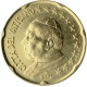 Vatican 20 Cent Coin 2002 - © European-Central-Bank